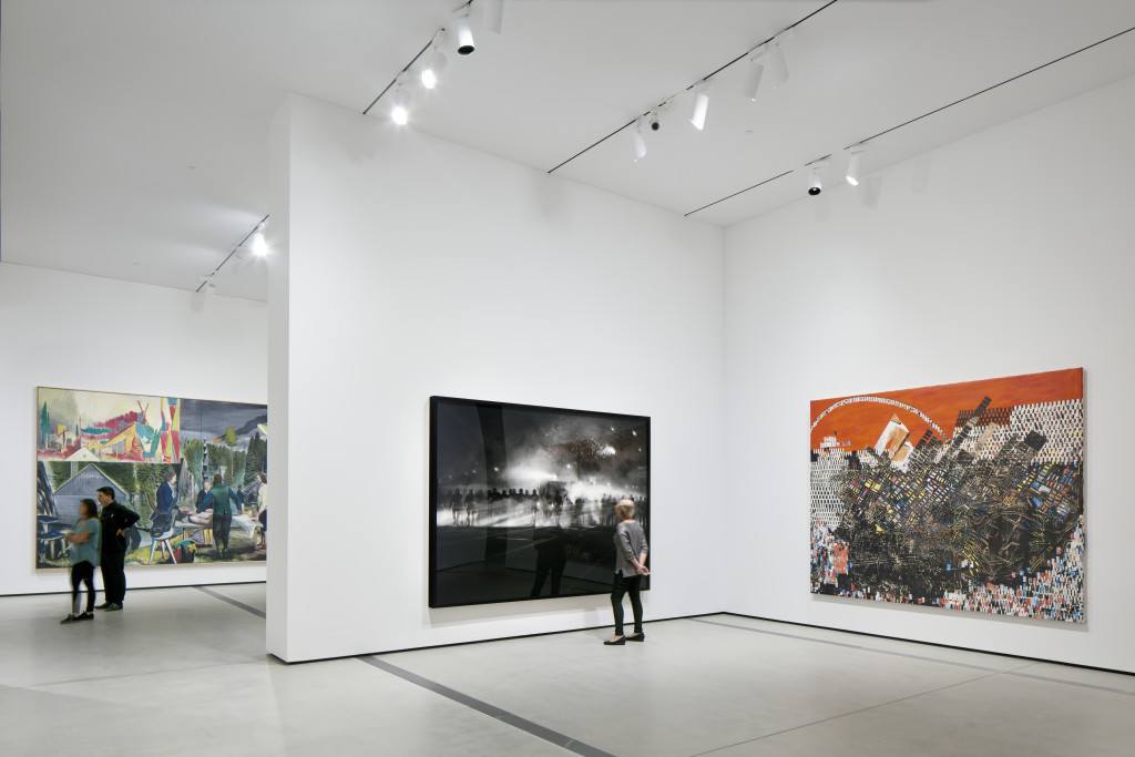 The Broad Museum Exhibits