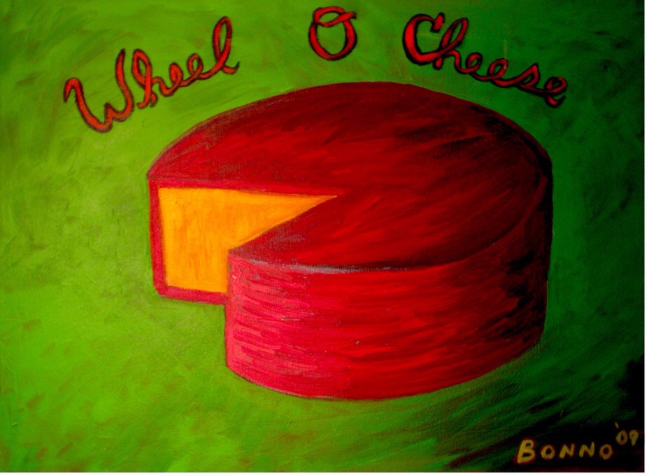 Wheel of Cheese by Chris Bonno
