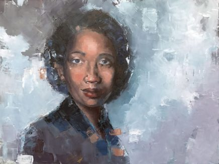 Against All Odds by Mildred Loving, Oil on Wood