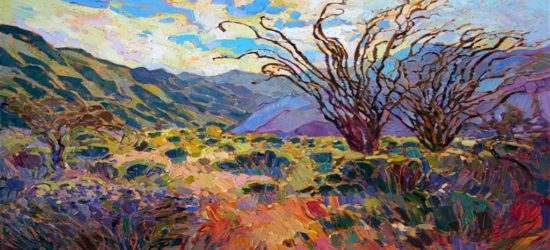 Borrego in Bloom by Erin Hanson