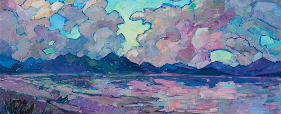 Erin Hanson's Clouds Above