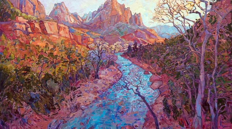 Zion Vista by Erin Hanson