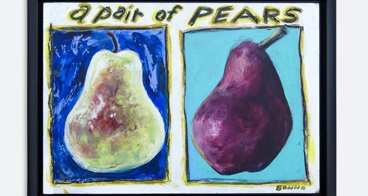 A pair of Pears by Chris Bonno
