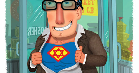 The Jewish Origins of Superman (New York Newsday)