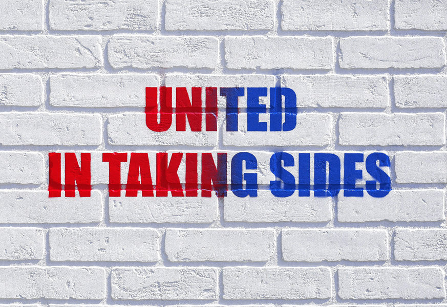 United in Taking Sides by Adam Mars