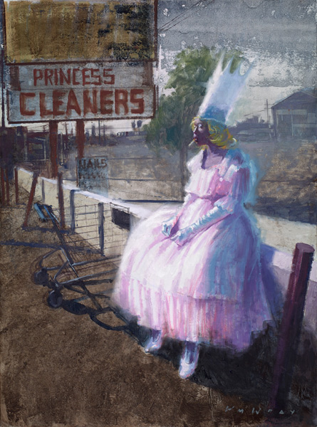 Princess Cleaners by William Wray