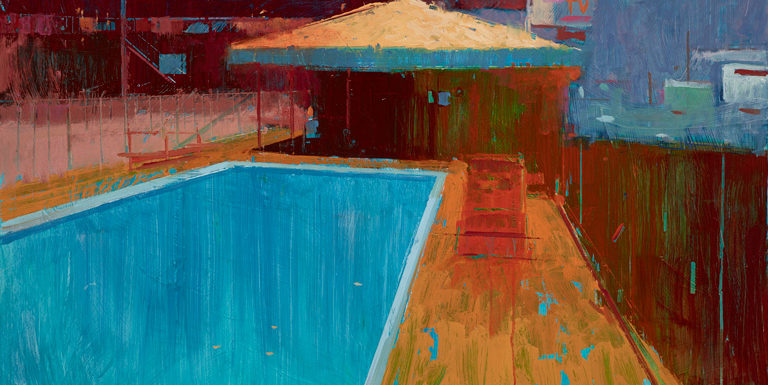 Hollywood motel by William Wray