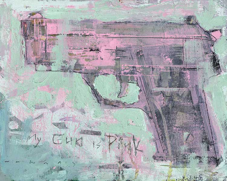My Gun is Pink by William Wray