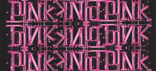 Pink Pop up Show logo by William Wray