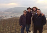 Seth with (l-r) Max Chapoutier, Carlo Mondavi, and Phil Holbrook in the Rhone Valley, France