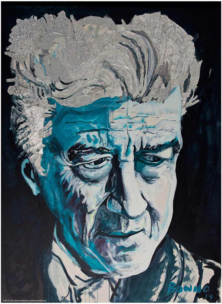 David Lynch by Chris Bonno