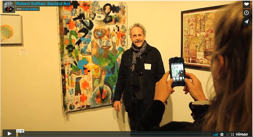 New Adventures in Art - A Robert Soffian Documentary written and produced by Amos Soffian