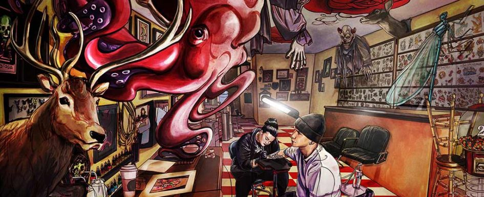 Tattoo Parlor by Jin Kim